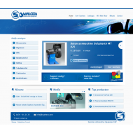 Homepage website Saarloos Automotive Equipment